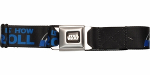 Star Wars R2-D2 This is How I Roll Seatbelt Mesh Belt