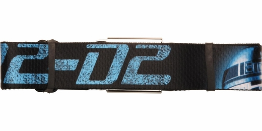 Star Wars R2D2 Blue Name Seatbelt Belt