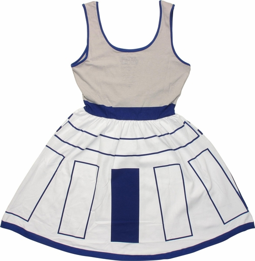 Star Wars R2D2 Costume A Line Dress