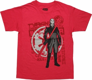 Star Wars Rebels Inquisitor Youth T-Shirt