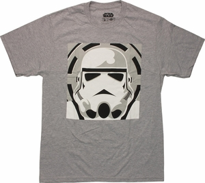 Star Wars Simple Trooper T Shirt Sheer