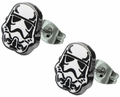 Star Wars Stormtrooper Helmet Stud Earrings
