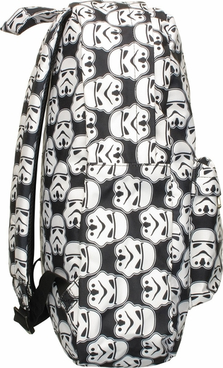 Star Wars Stormtrooper Helmets All Over Backpack