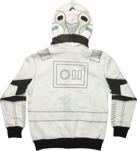 Star Wars Stormtrooper Printed Youth Hoodie