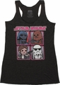 Star Wars Toon Quad Tank Top Baby Tee