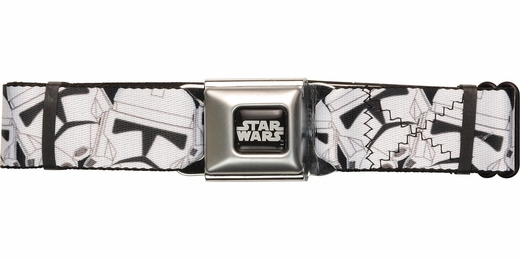 Star Wars Trooper Helmet Jumble Seatbelt Belt