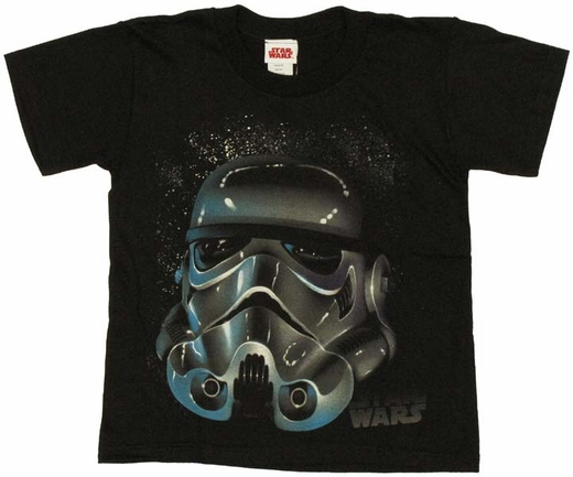 Star Wars Trooper Helmet Juvenile T-Shirt