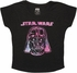 Star Wars Vader Crayon Etch Ladies Tee
