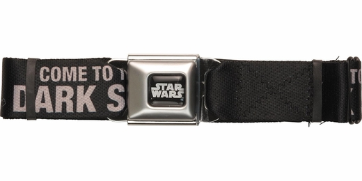 Star Wars Vader Dark Side Beckon Seatbelt Belt