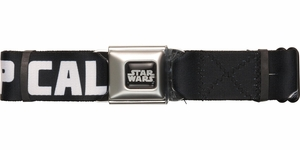 Star Wars Vader Keep Calm Use Force Seatbelt Belt