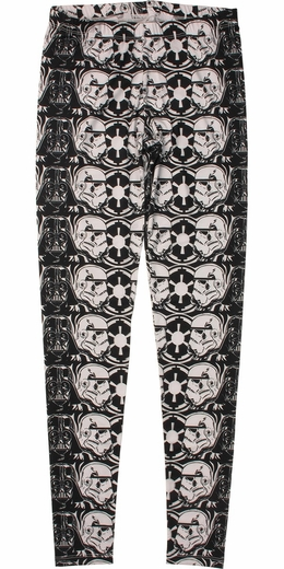 Star Wars Vader Trooper Helmets Stacked Leggings