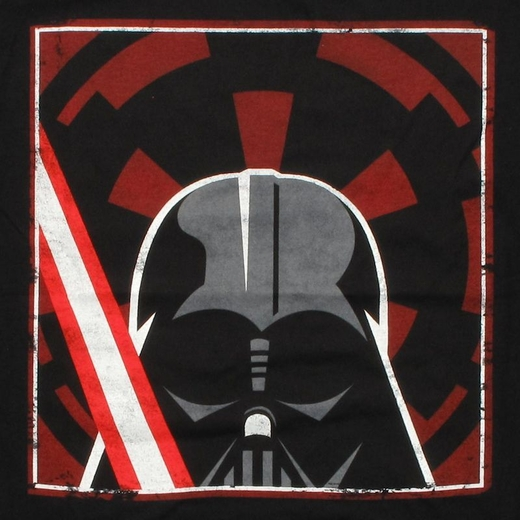 Star Wars Vector Vader T Shirt Sheer