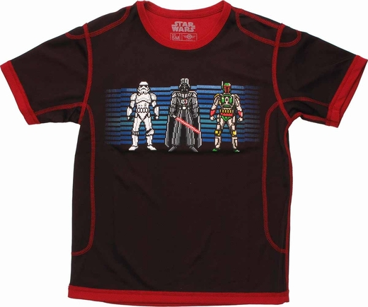 Star Wars Villain Line Mesh Youth T Shirt
