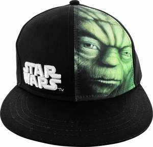Star Wars Yoda Face Sublimated Youth Hat