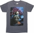 Star Wars Yoda Galaxy Burnout T Shirt Sheer