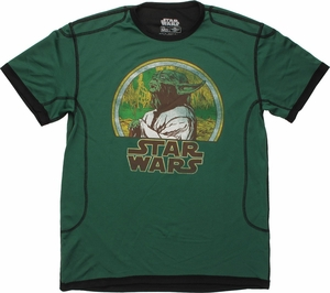 Star Wars Yoda Swamp Mesh T Shirt