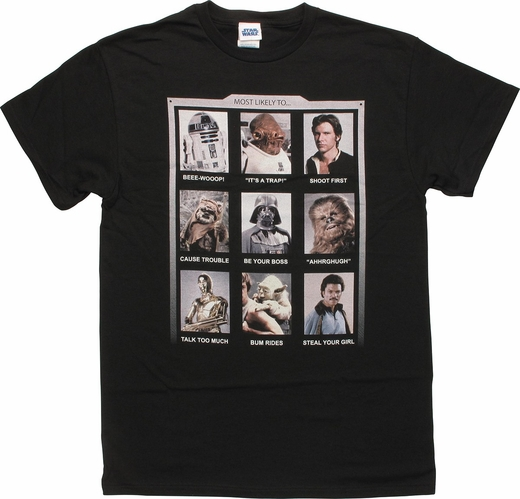 Stars Wars Most Likely To T-Shirt