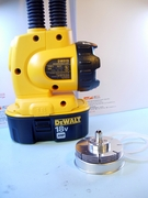 1,300 lumens LED Up Graded for DeWALT 18V (Pack of 3)