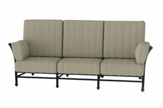 The Auburn Collection Commercial Cast Aluminum Sofa