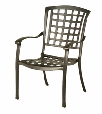 The Belstaff Collection Commercial Cast Aluminum Stationary Dining Chair