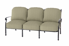 The Bouvier Collection Commercial Cast Aluminum Sofa