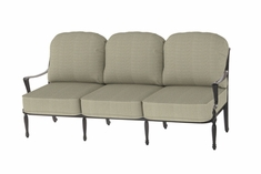 The Brielle Collection Commercial Cast Aluminum Sofa