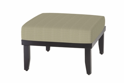 The Cadence Collection Commercial Cast Aluminum Sectional Ottoman