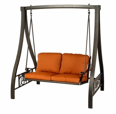 The Cayman Collection Commercial Cast Aluminum Canopy Swing