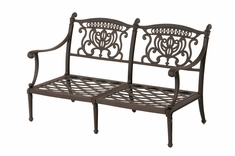 The Cayman Collection Commercial Cast Aluminum Loveseat