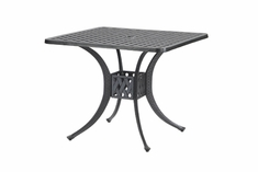"The Claret Collection Commercial Cast Aluminum 36"" Square Dining Table"