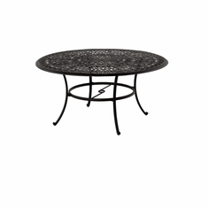 "The Del Mar Collection Commercial Cast Aluminum 60"" Round Dining Table"