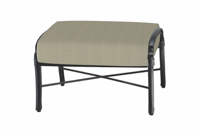 The Devonte Collection Commercial Cast Aluminum Ottoman