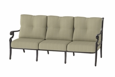 The Devonte Collection Commercial Cast Aluminum Sofa