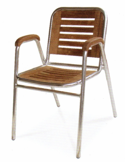 The Drake Collection Commercial Teak Dining Chair