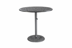 "The Floria Collection Commercial Cast Aluminum 42"" Round Counter Height Table"