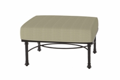 The Floria Collection Commercial Cast Aluminum Sectional Ottoman
