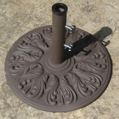 "The Galtech Collection 18"" European Cast Iron Umbrella Stand"