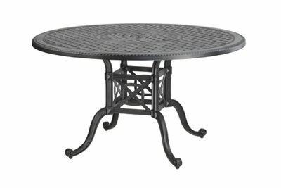 "The Grandville Collection Commercial Cast Aluminum 48"" Round Dining Table"