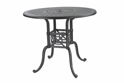 "The Grandville Collection Commercial Cast Aluminum 54"" Round Counter Height Table"