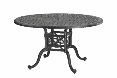 "The Grandville Collection Commercial Cast Aluminum 54"" Round Dining Table"