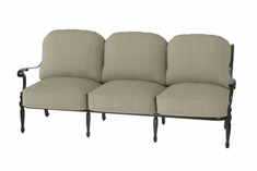 The Holbrook Collection Commercial Cast Aluminum Sofa