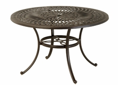"The Macyn Collection Commercial Cast Aluminum 48"" Round Counter Height Table"