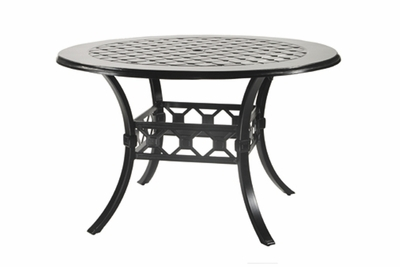 """The Mimosa Colleciton Commercial Cast Aluminum 54"""" Round Counter Height Table"""