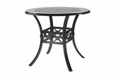 """The Mimosa Collection Commercial Cast Aluminum 48"""" Round Bar Height Table"""