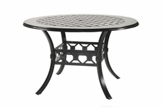 "The Mimosa Collection Commercial Cast Aluminum 60"" Round Counter Height Table"