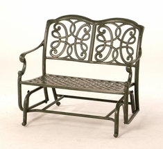The Molina Collection Commercial Cast Aluminum Double Glider