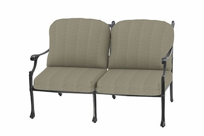 The Montego Collection Commercial Cast Aluminum Loveseat