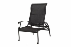 The Montego Collection Commercial Wicker Stationary Reclining Chair