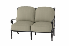 The Oceana Collection Commercial Cast Aluminum Loveseat