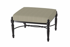 The Oceana Collection Commercial Cast Aluminum Ottoman